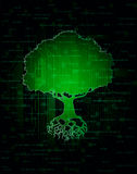 Technology tree Stock Images