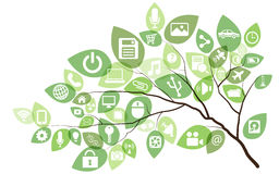 Technology Tree Stock Photos