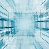 Technology tunnel Stock Photo