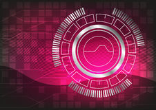 Technology vector abstract background. By EPS 10 Royalty Free Stock Image