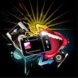 Technology vector illustration Royalty Free Stock Photo