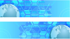 Technology Web Banner Stock Image