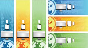 Technology Web Banners Stock Photography