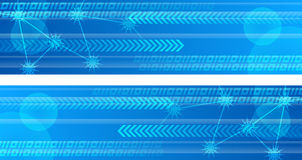 Technology Web Banners Royalty Free Stock Photo