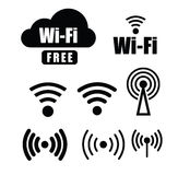 Technology wi fi Royalty Free Stock Photos