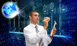 Technoogy innovatore di ingegneria Fotografie Stock