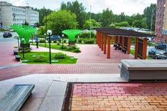 The Technopark Of Novosibirsk Academgorodok ( Academpark ). Sibe Stock Photo
