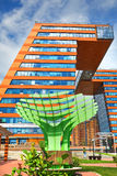 The Technopark Of Novosibirsk Academgorodok ( Academpark ). Sibe Royalty Free Stock Photos