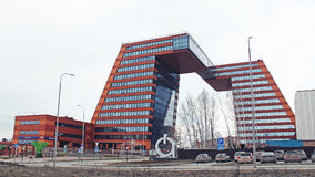 Technopark Of Novosibirsk Academgorodok Stock Images