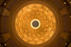 Techo adornado de la bóveda Fotos de archivo libres de regalías