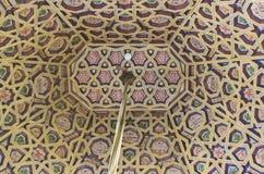 Techo adornado hermoso en el palacio de Pena Nacional Imagen de archivo