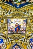 Techo Art Work en Roma 1 Foto de archivo