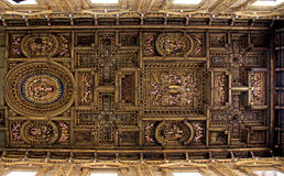Techo barroco Imagenes de archivo
