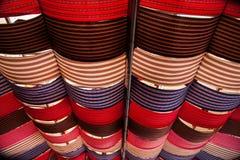 Techo cultural del centro de exposición del municipio de Puli, el condado de Nantou Thao imagen de archivo libre de regalías