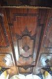Techo de Beuatiful del templo de Shwethalyaung Buda de descanso i Fotografía de archivo