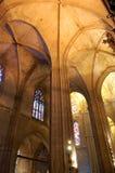 Techo de catedral Imagen de archivo libre de regalías