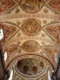 Techo de catedral en Sevilla, España Imágenes de archivo libres de regalías
