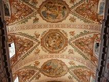 Techo de catedral en Sevilla, España Foto de archivo libre de regalías