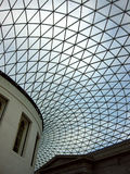 Techo de cristal, British Museum Fotos de archivo libres de regalías