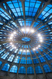 Techo de cristal de la bóveda Fotos de archivo libres de regalías