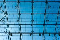 Techo de cristal transparente Fotos de archivo
