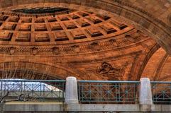 Techo de de la Rotonda al aire libre Fotos de archivo