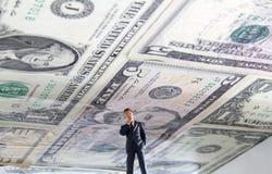 Techo de deuda Imagen de archivo