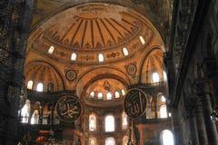 Techo de Hagia Sofía en Estambul Imagen de archivo