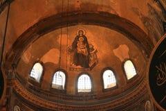 Techo de Hagia Sofía en Estambul Imagenes de archivo