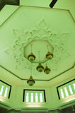 Techo de Kuala Lumpur Jamek Mosque en Malasia Fotografía de archivo