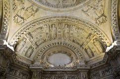 Techo de la catedral de Sevilla Fotos de archivo