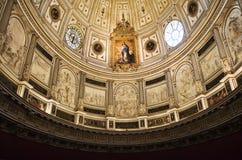 Techo de la catedral de Sevilla Foto de archivo libre de regalías