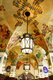 Techo de la cervecería de Hofbraeuhaus fotografía de archivo libre de regalías