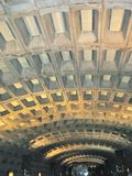 Techo de la estación de metro Imagen de archivo