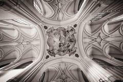 Techo de la iglesia Fotos de archivo