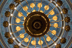 Techo de la iglesia cristiana Fotografía de archivo libre de regalías