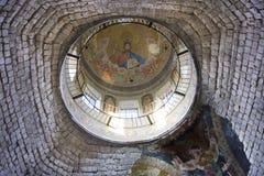 Techo de la iglesia de San Nicolás en Condrita Fotos de archivo
