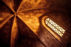 Techo de la iglesia griega Imagen de archivo