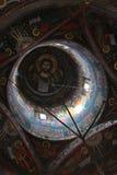 Techo de la iglesia - pinturas Foto de archivo libre de regalías