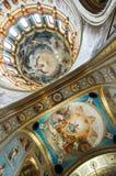 Techo de la iglesia rusa en Moscú imagen de archivo libre de regalías