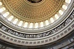 Techo de la Rotonda del capitolio Imágenes de archivo libres de regalías
