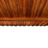 Techo de madera del pórtico Fotografía de archivo