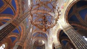 Techo de San Pedro de la catedral de Djakovo metrajes