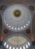 Techo de Yeni Cami Mosque, Estambul Imágenes de archivo libres de regalías