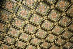 Techo decorativo imagen de archivo