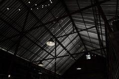 Techo del cortijo con la luz Imagen de archivo