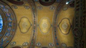 Techo del cubo de la iglesia votiva imágenes de archivo libres de regalías