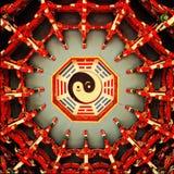 Techo del gua del Ba de la ji del Tai Foto de archivo libre de regalías