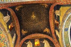 Techo del mausoleo de los placidas de galla Imagenes de archivo
