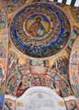 Techo del monasterio de Rila en Bulgaria imagen de archivo